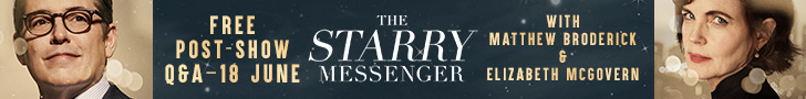 The Starry Messenger - Free Post-Show Q&A - 18th June 2019