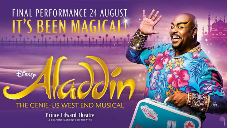 Aladdin at the Prince Edward Theatre