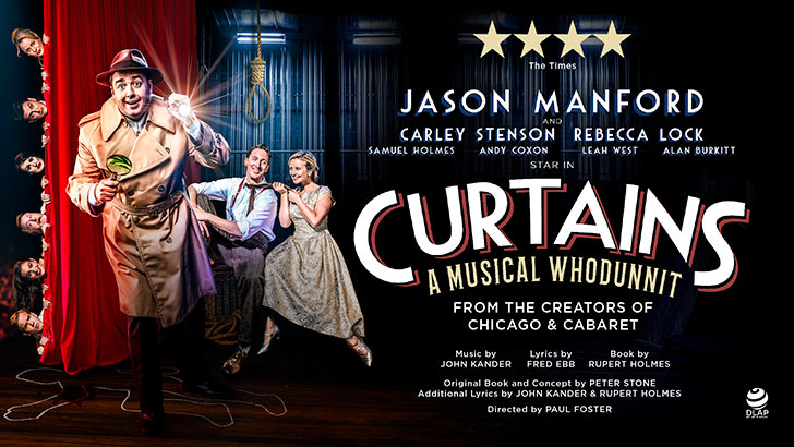 Curtains at the Wyndham's Theatre