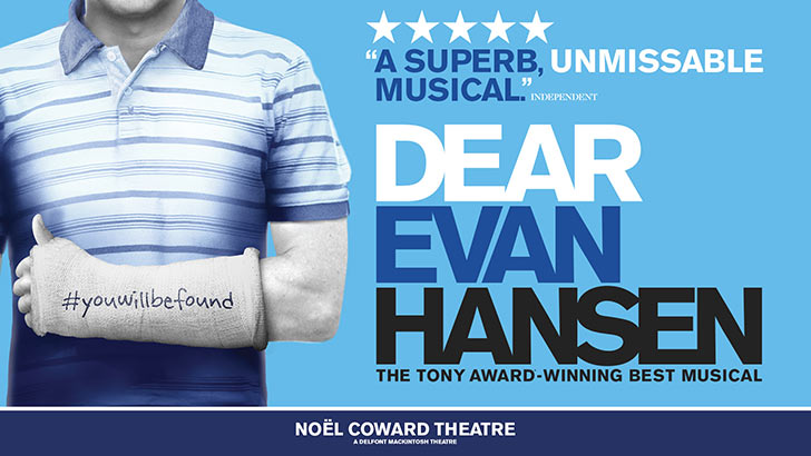 Dear Evan Hansen at Noël Coward Theatre