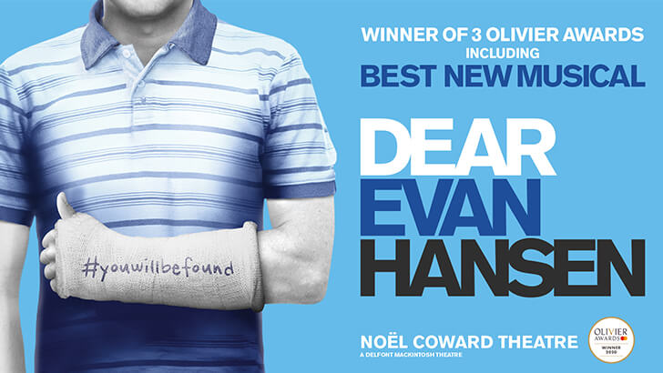 Dear Evan Hansen at the Noël Coward Theatre