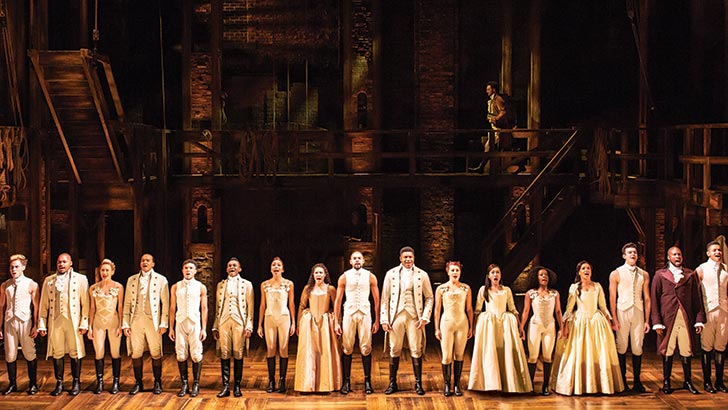 Hamilton - Book London theatre tickets direct with Delfont Mackintosh  Theatres