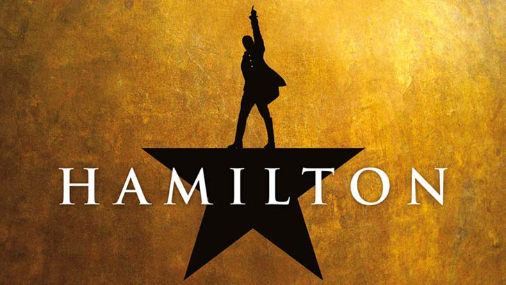 Hamilton at the Victoria Palace Theatre