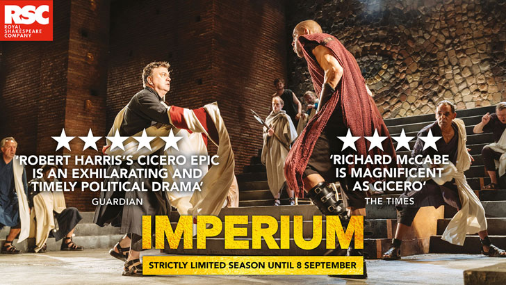 Imperium - I: Conspirator & II: Dictator at the Gielgud Theatre