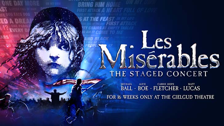 Les Misérables: The All-Star Staged Concert at the Gielgud Theatre
