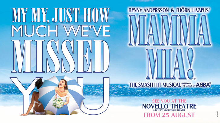 MAMMA MIA! and Fishworks - Ticket and 3 course meal theatre offer