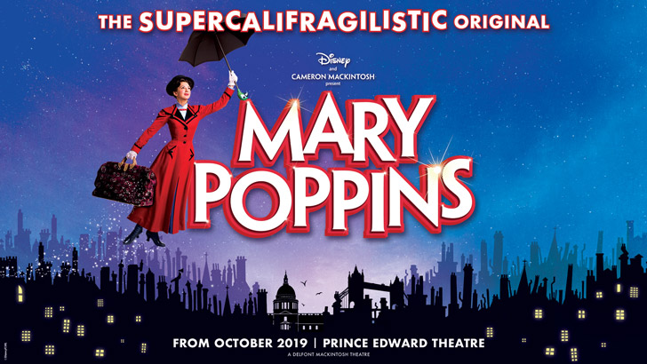 Image result for mary poppins west end 2019