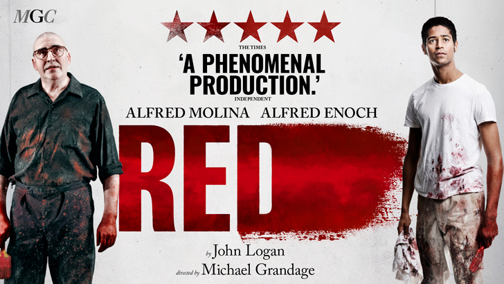 Red at the Wyndham's Theatre