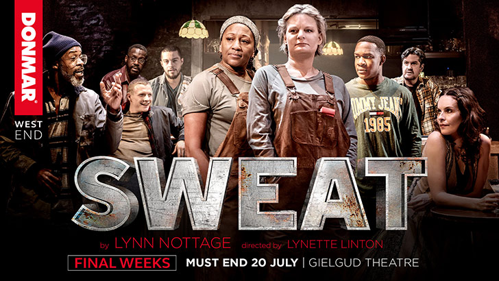 Sweat at the Gielgud Theatre