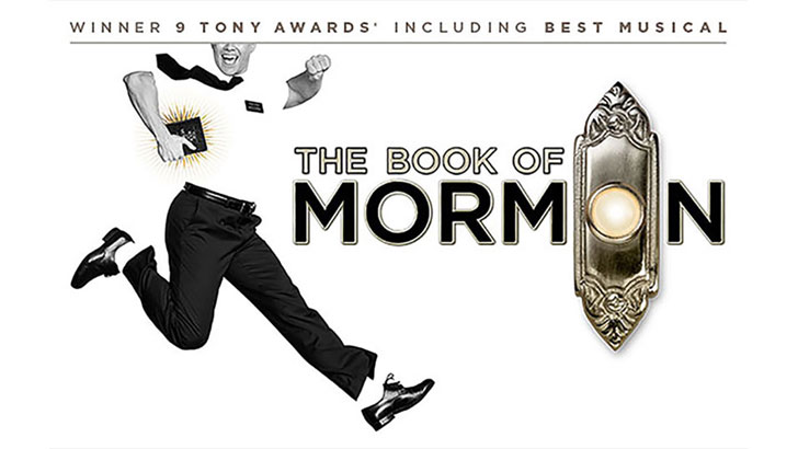The Book of Mormon poster artwork