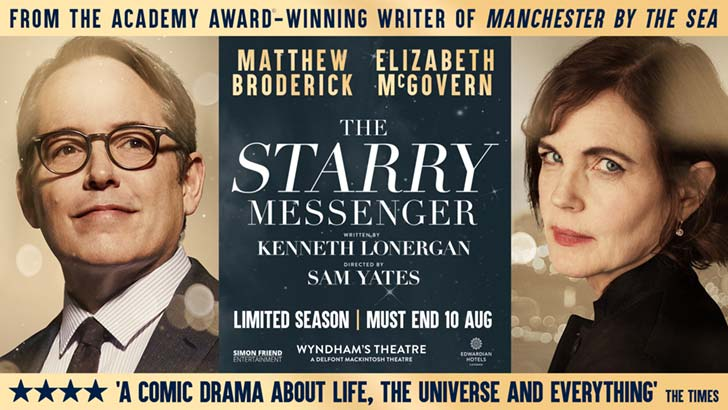 The Starry Messenger at the Wyndham's Theatre