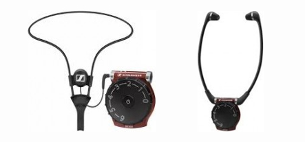 The Sennheiser Infrared Enhanced Hearing headsets available at Victoria Palace Theatre